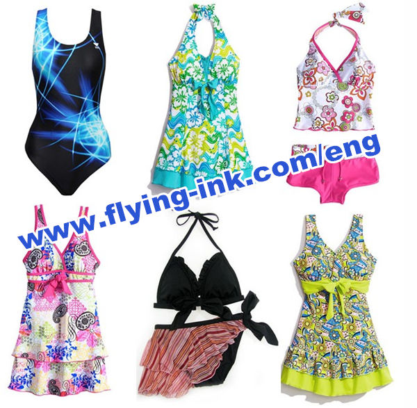 Swimwear use Offset sublimation transfer printing ink